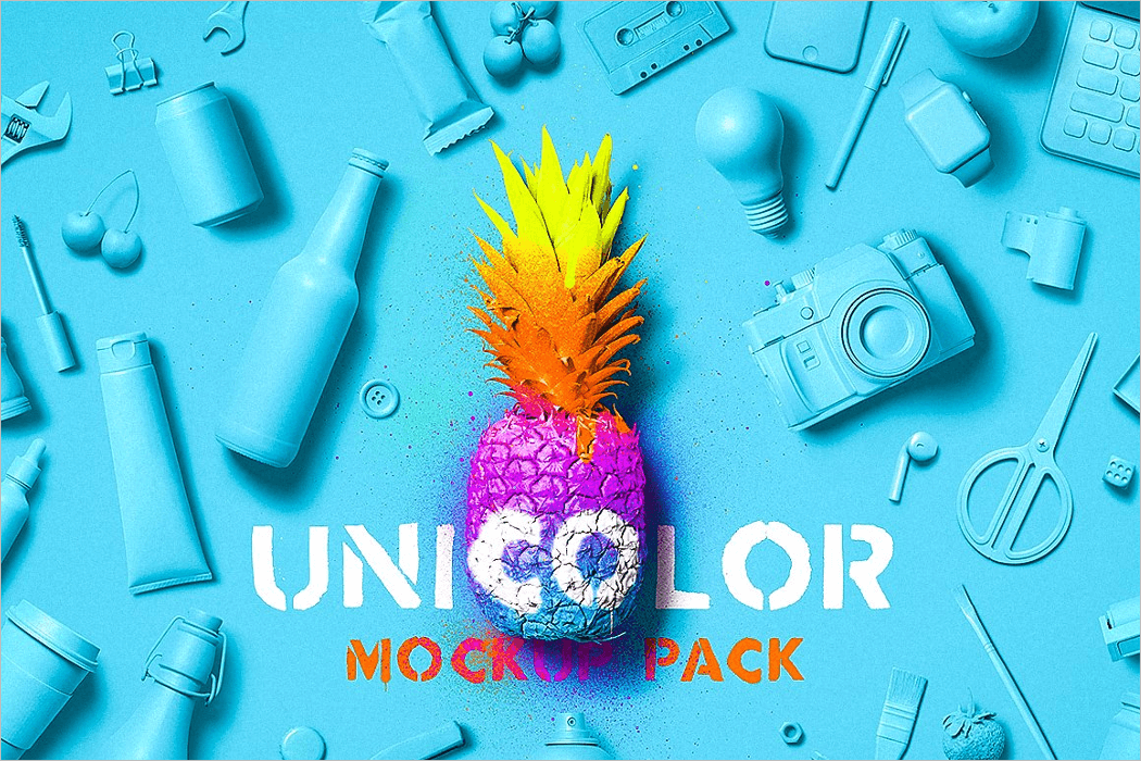 Unicolor Mockup Pack Download