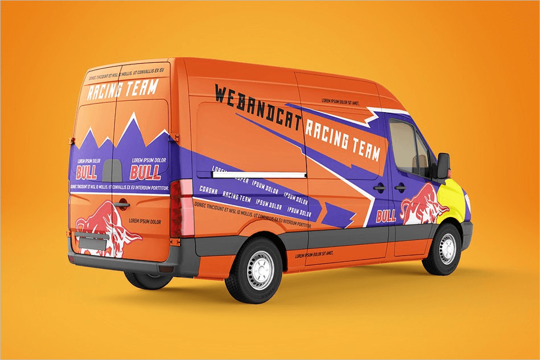 Vehicle Branding Mockup