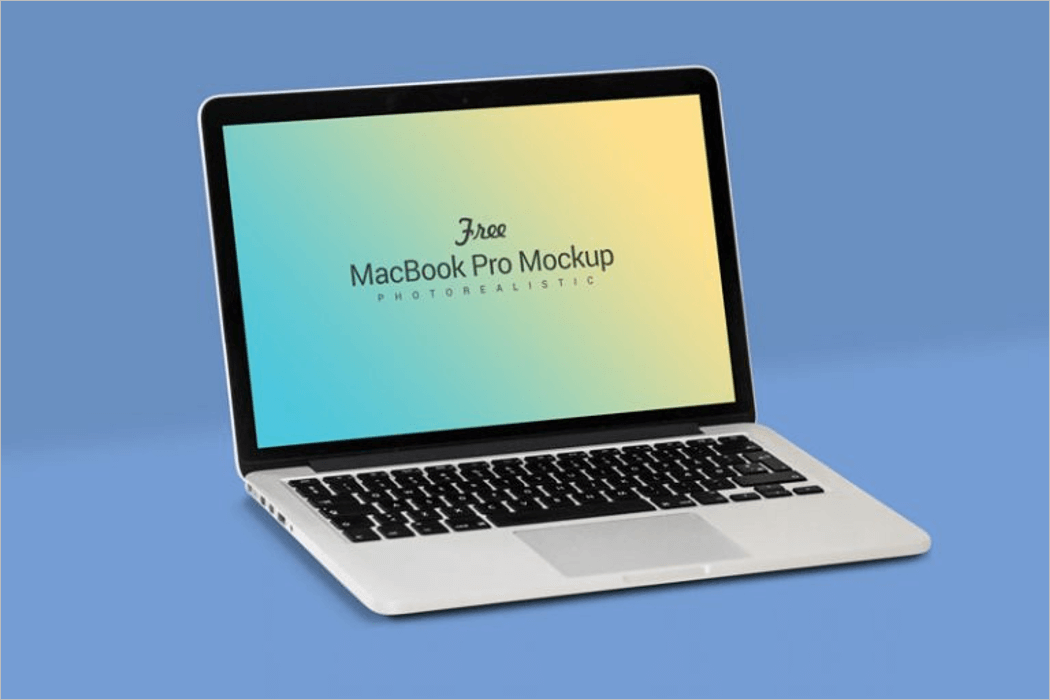 4K MacBook Mockup Design
