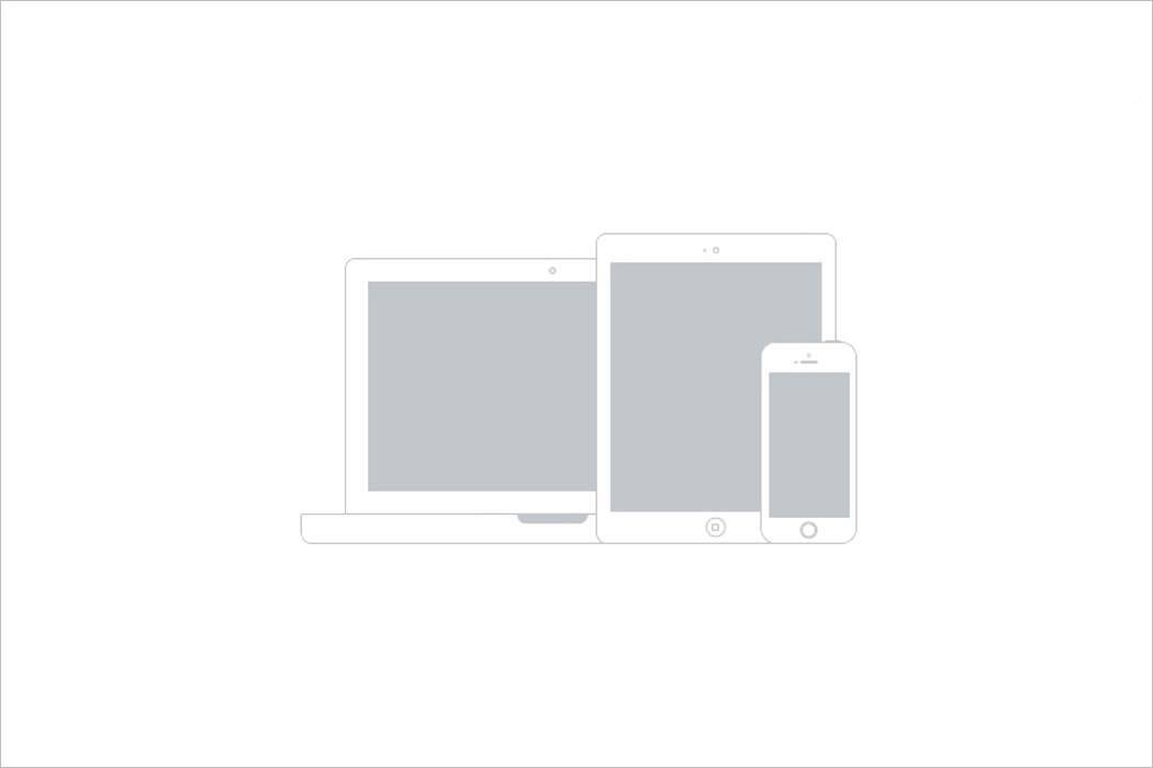 Apple Device Wireframe Mockup