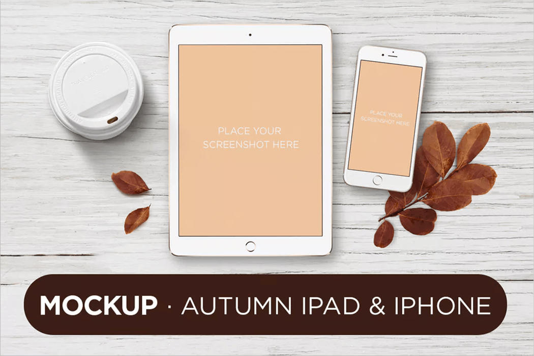Apple Responsive Mockup PSD