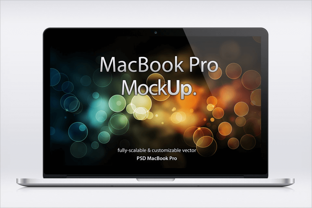 Beautiful MacBook Mockup