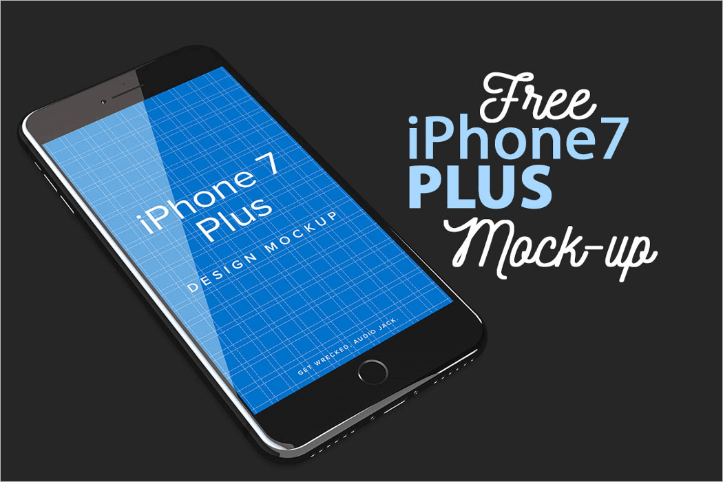 Free iPhone 7 Mockup Design