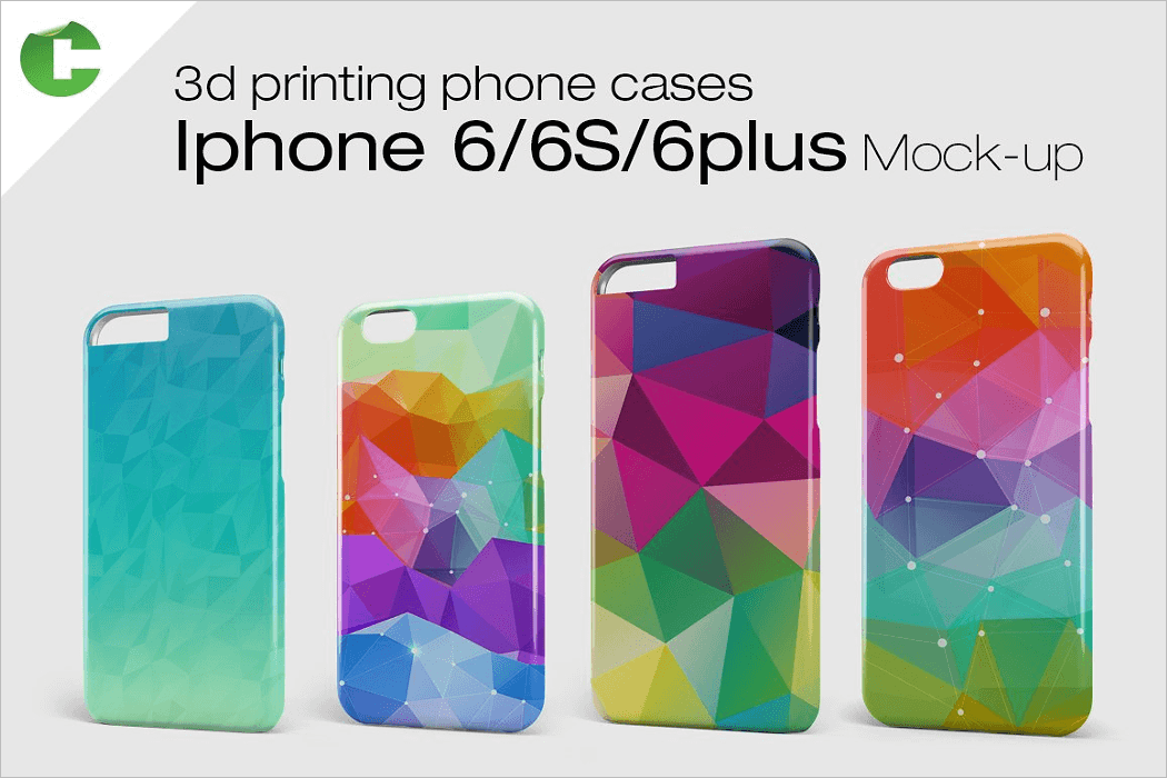 IPhone 6 Case Mockup PSD