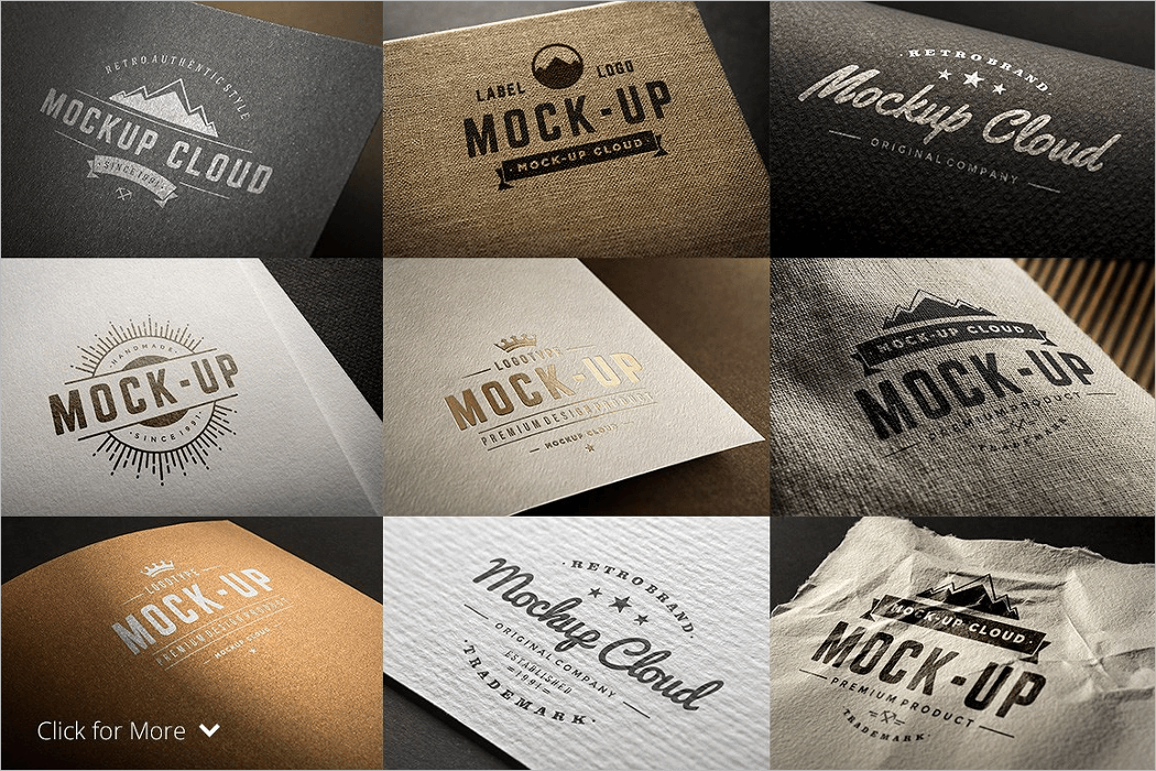 Logo Mockup Bundle