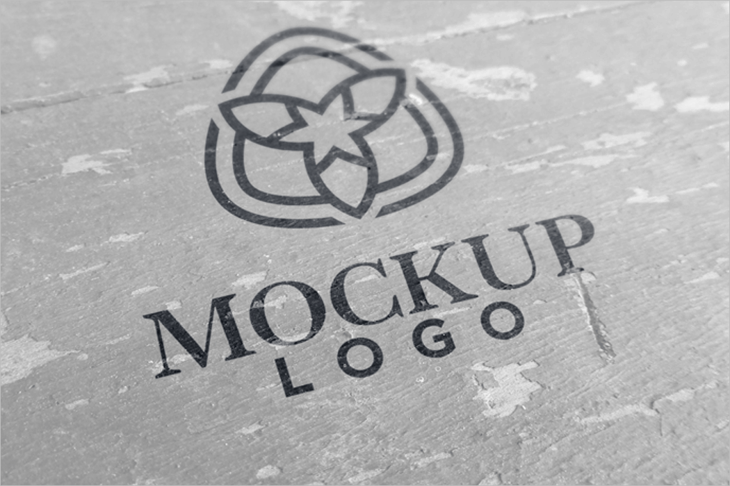 Logo Presentation Mockup Download