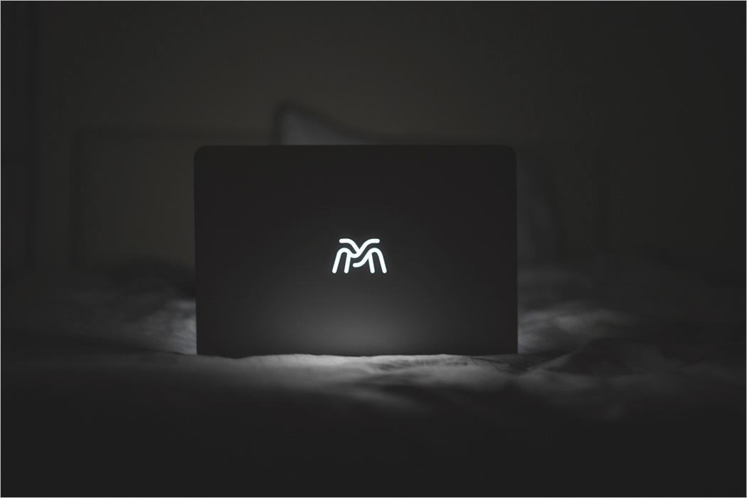 MacBook Logo Mockup