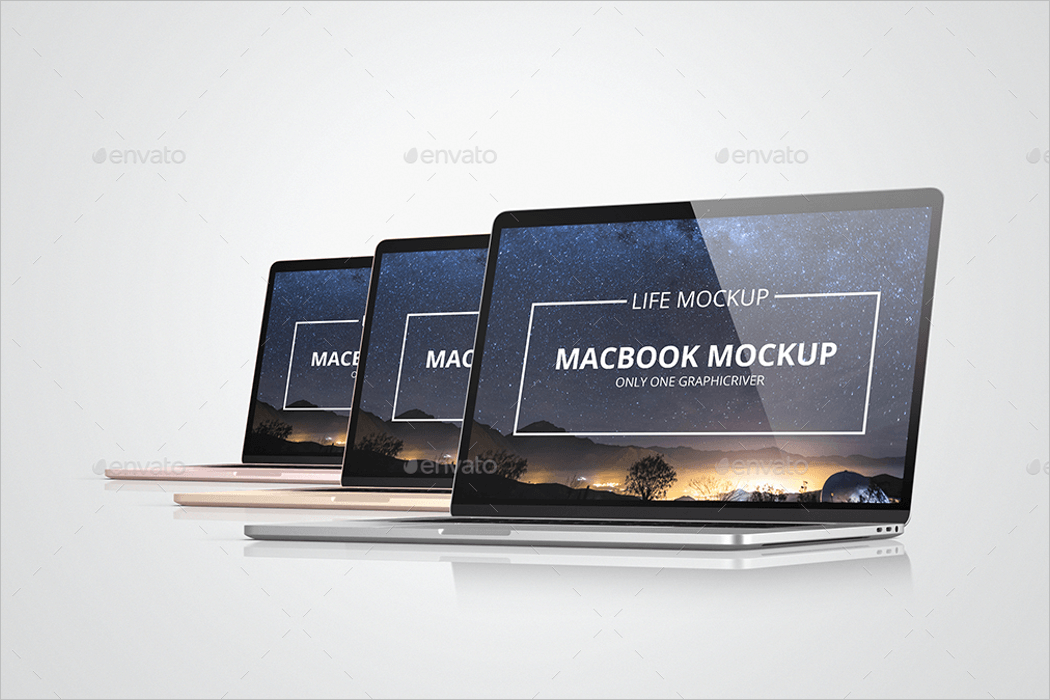 MacBook Mockup Free Download