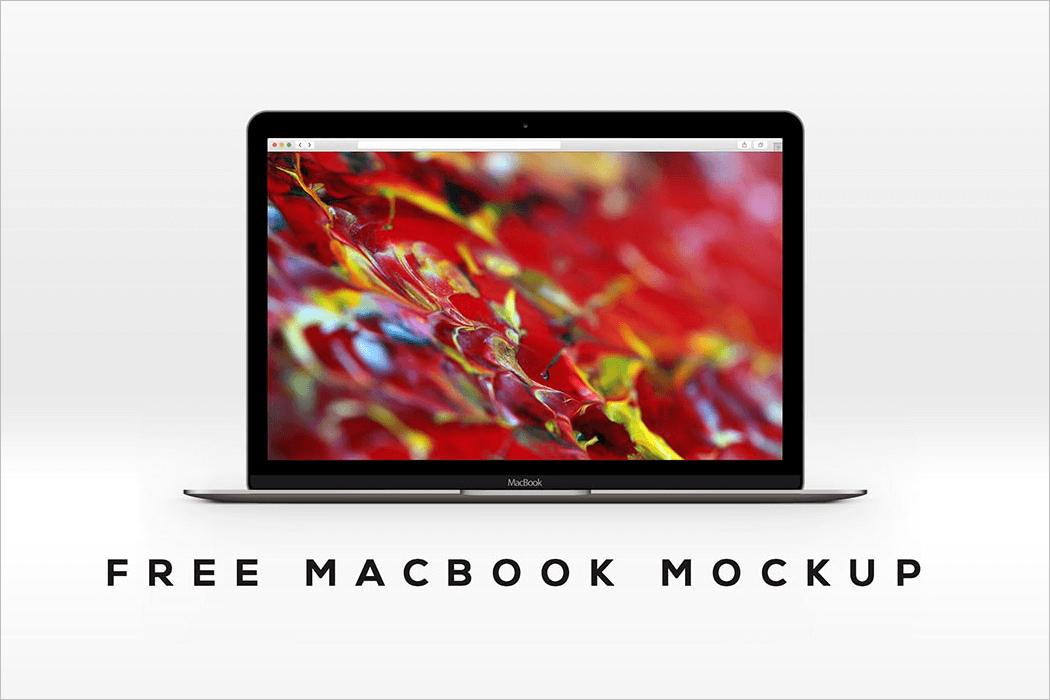MacBook Presentation Mockup Template
