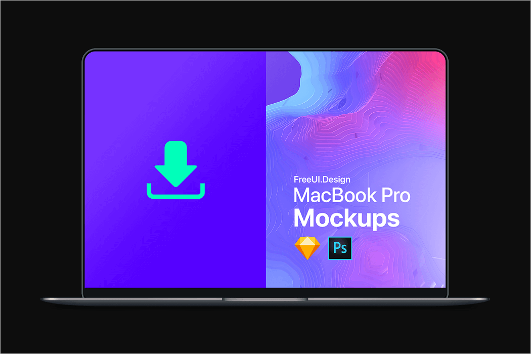 MacBook Pro Mockup Vector