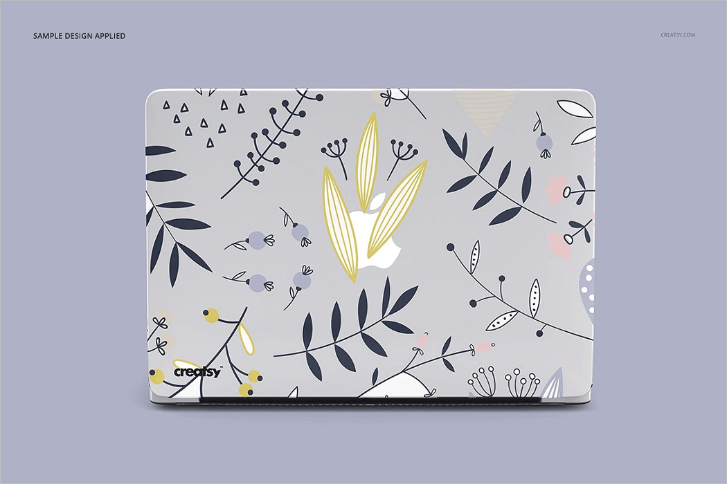 Macbook Case Mockup Set