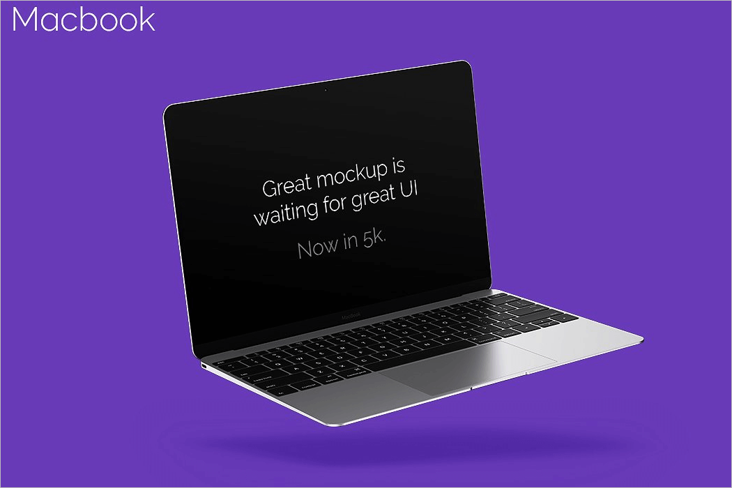 Macbook Mockup PNG