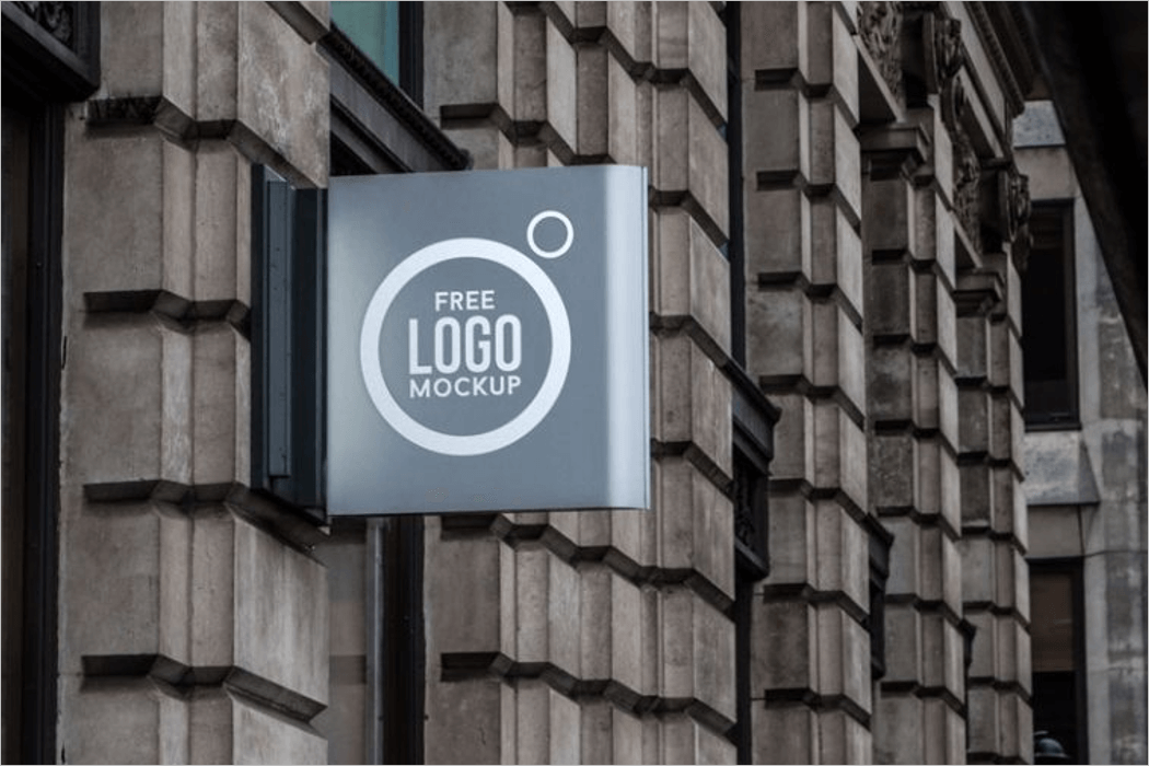 Outdoor Logo Mockup