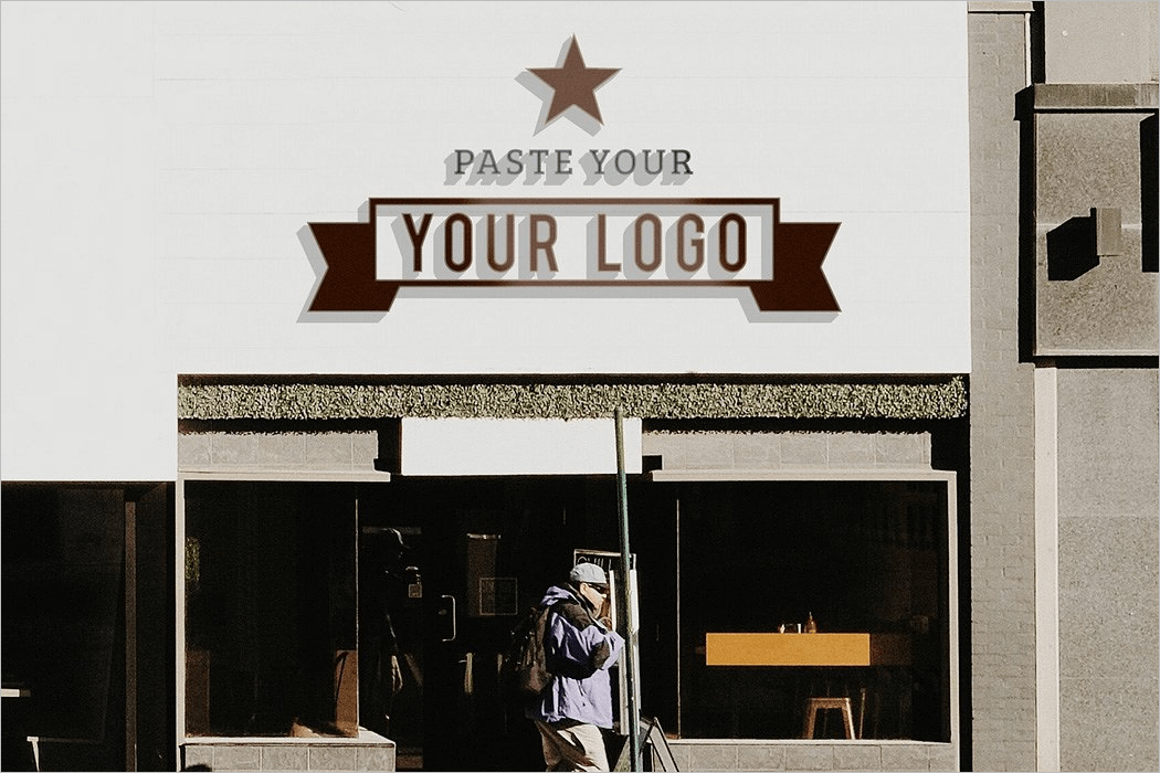 Sign Logo Mockup Design