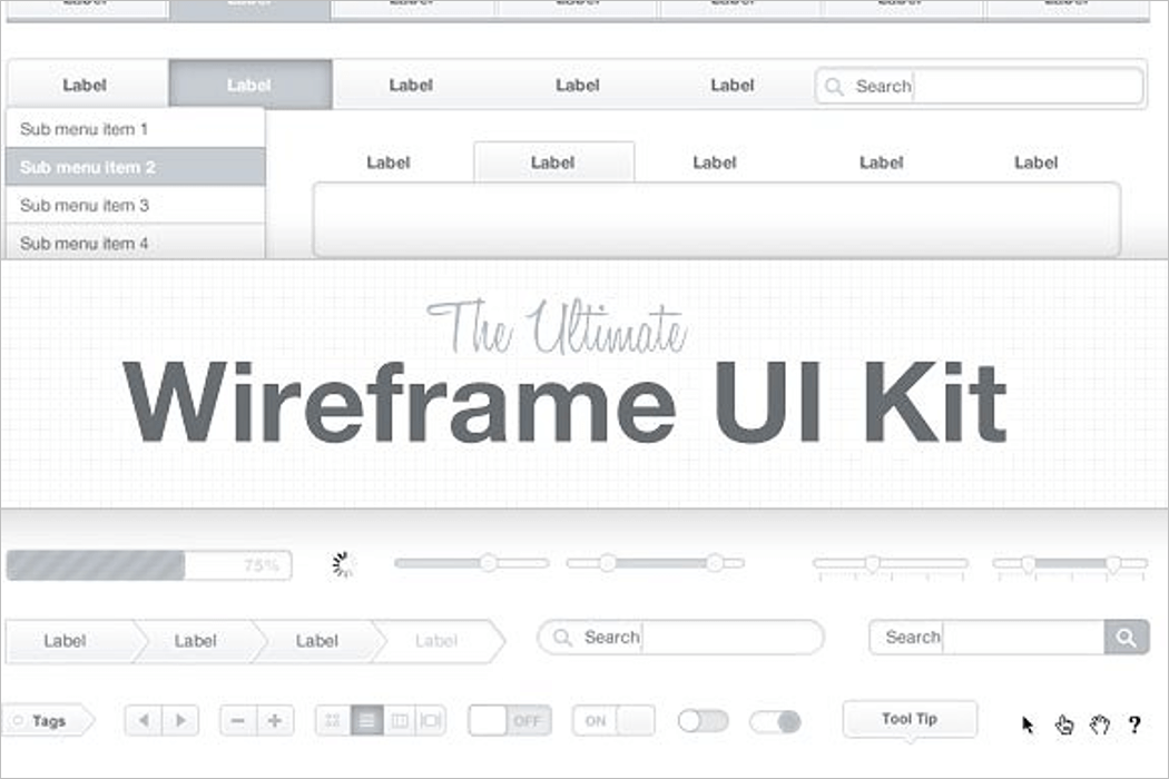 Ultimate Wireframe Mockup