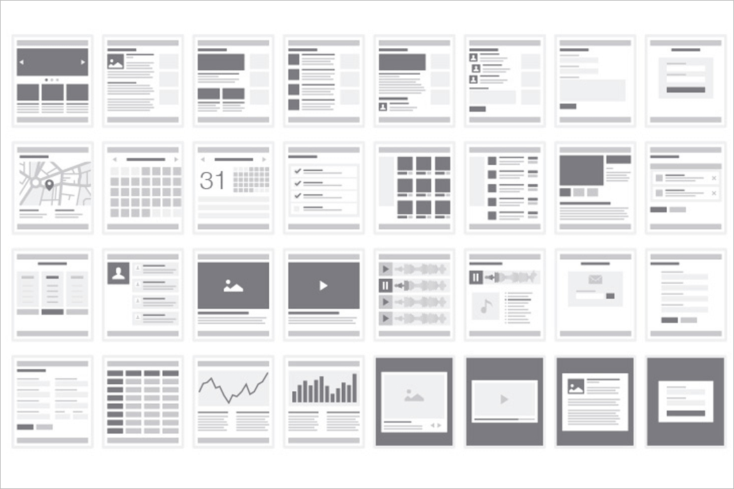 Wireframe Mockup For Website Sitemap