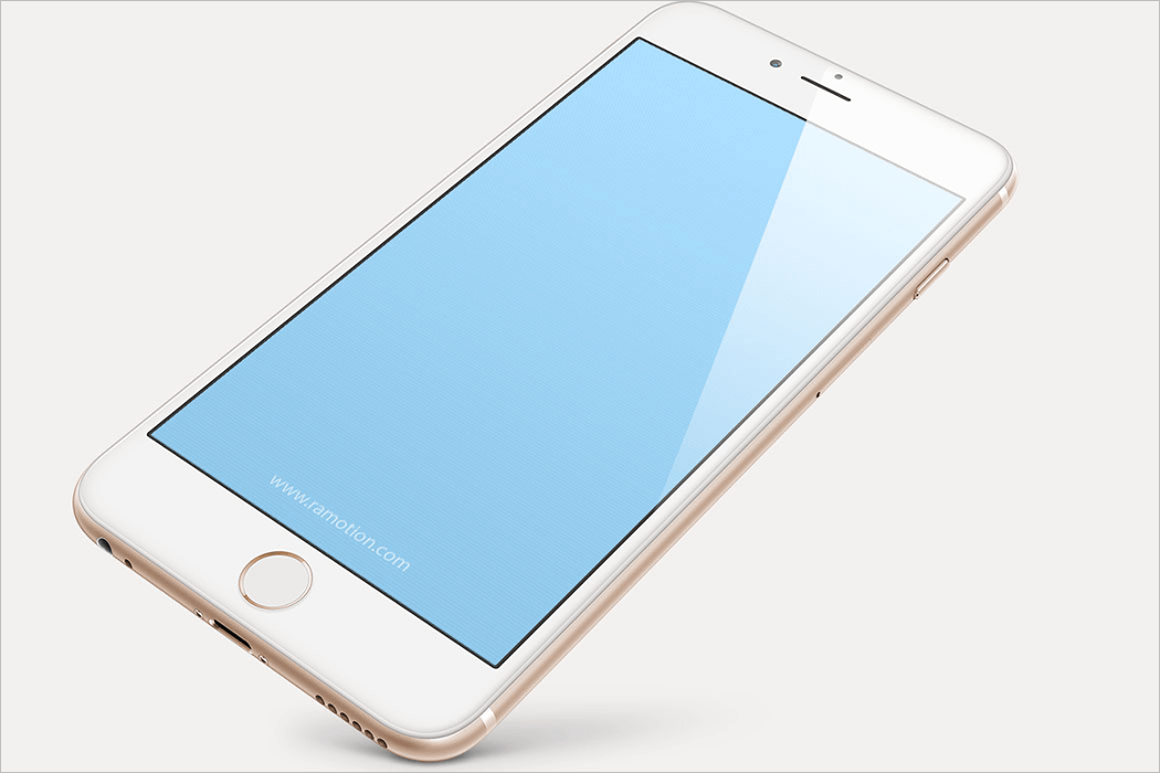 iPhone Mockup Illustrator