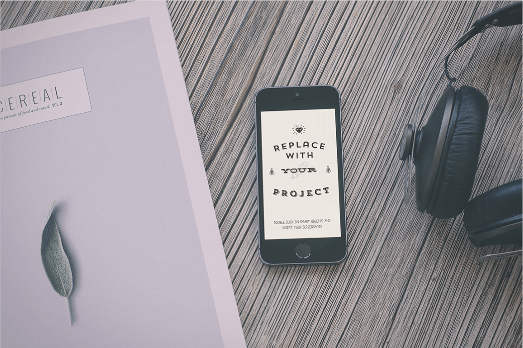 iPhone Mockup Template