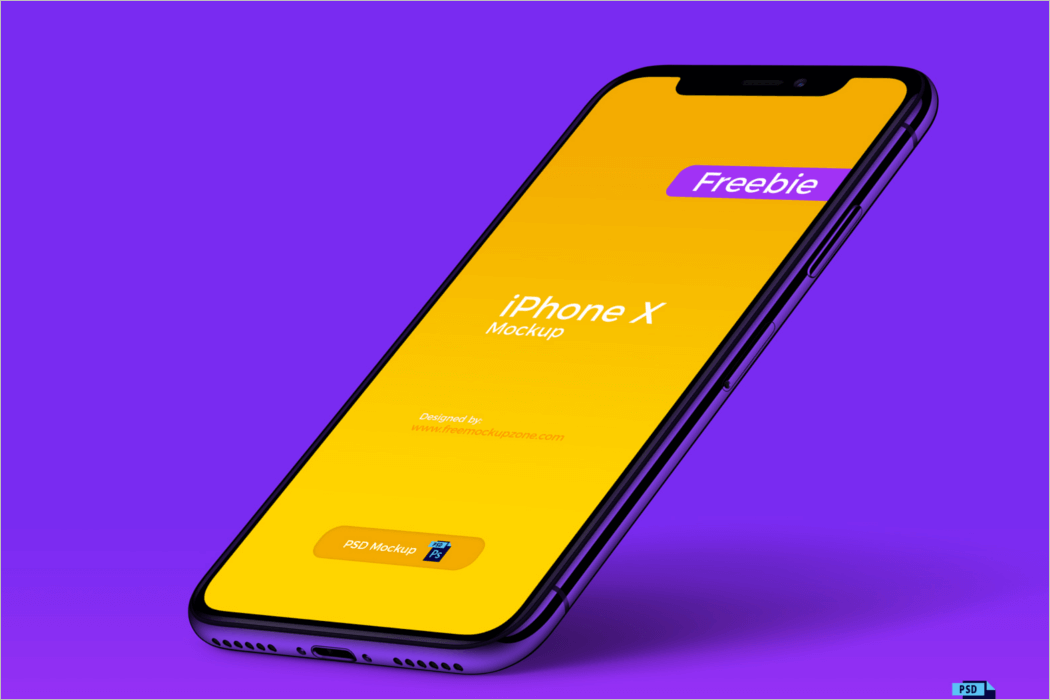 iPhone Screen Design Mockup