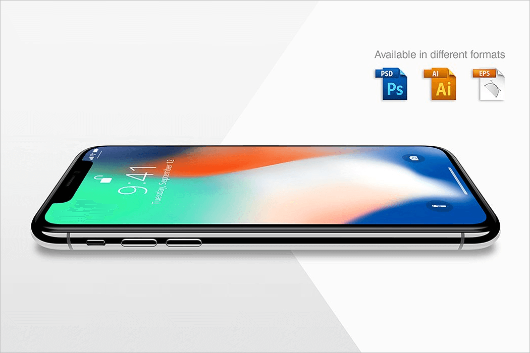 iPhone X Mockup Free Download