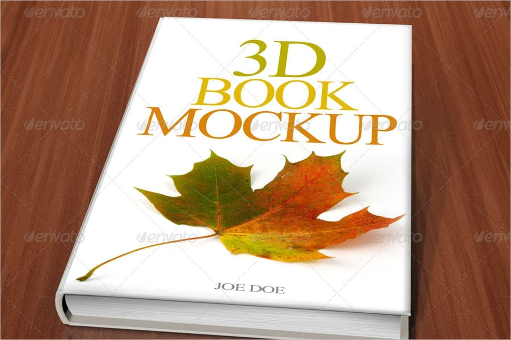 3d book mockup psd free download