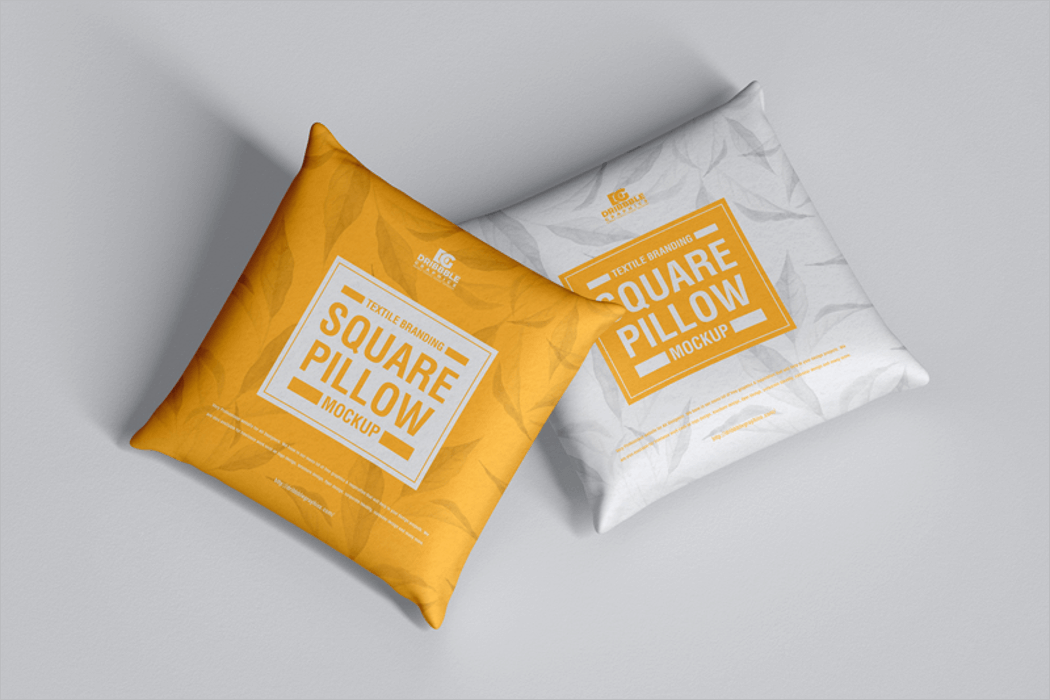 Pillow Cover Mockup